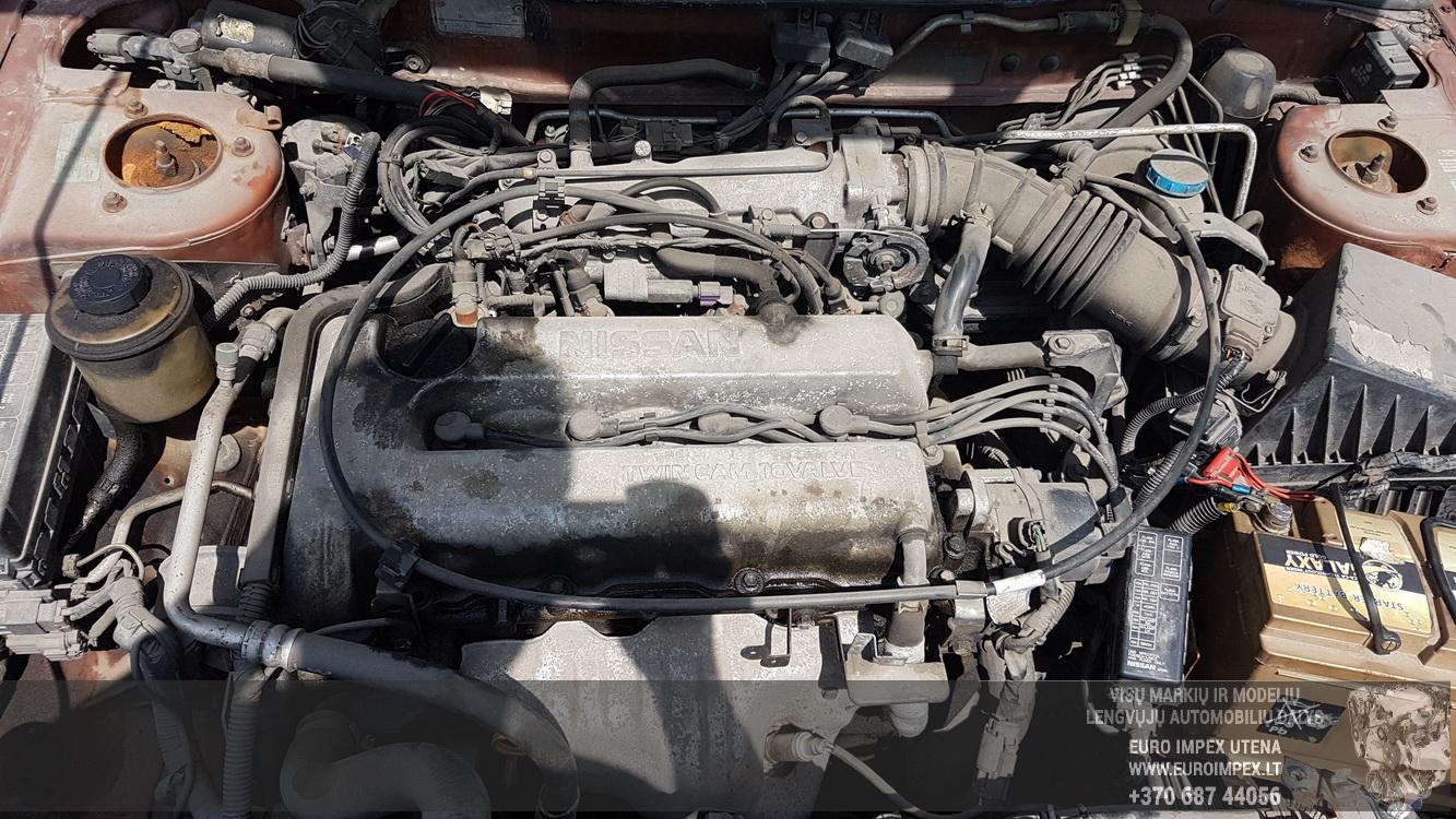 Naudotos automobiliu dallys Foto 8 Nissan PRIMERA 1997 2.0 Mechaninė Sedanas 4/5 d. Oranzine 2016-5-31 A2812