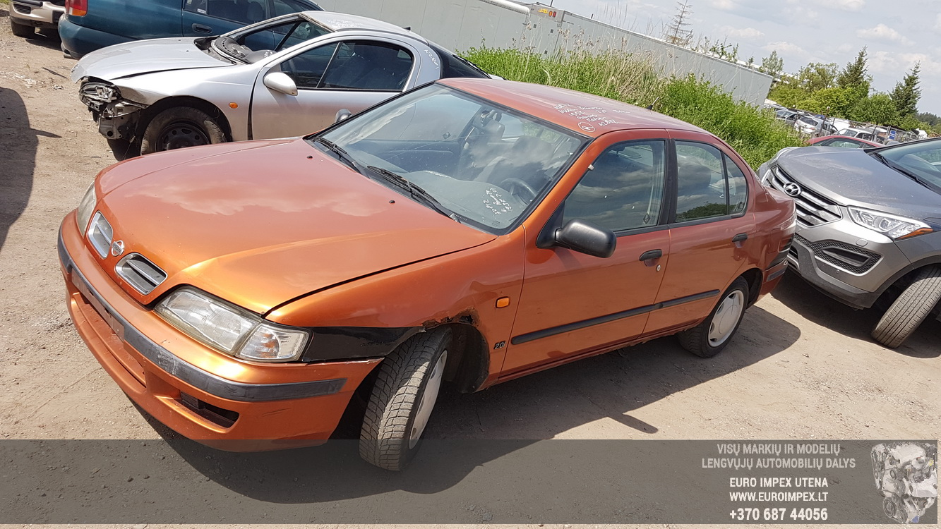 Naudotos automobiliu dallys Foto 1 Nissan PRIMERA 1997 2.0 Mechaninė Sedanas 4/5 d. Oranzine 2016-5-31 A2812