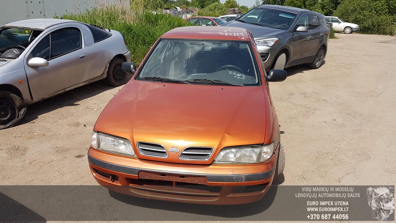 Naudotos automobiliu dallys Foto 2 Nissan PRIMERA 1997 2.0 Mechaninė Sedanas 4/5 d. Oranzine 2016-5-31 A2812