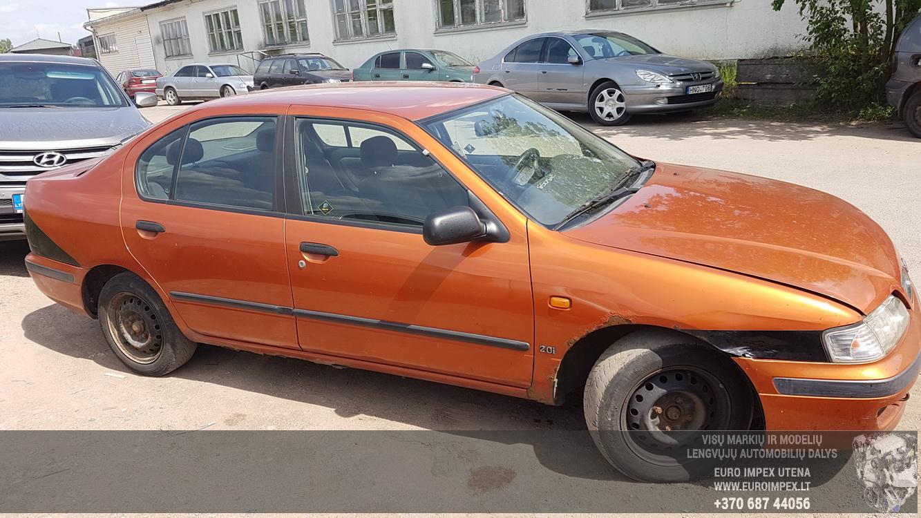 Naudotos automobiliu dallys Foto 3 Nissan PRIMERA 1997 2.0 Mechaninė Sedanas 4/5 d. Oranzine 2016-5-31 A2812