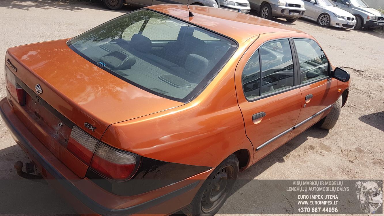 Naudotos automobiliu dallys Foto 6 Nissan PRIMERA 1997 2.0 Mechaninė Sedanas 4/5 d. Oranzine 2016-5-31 A2812