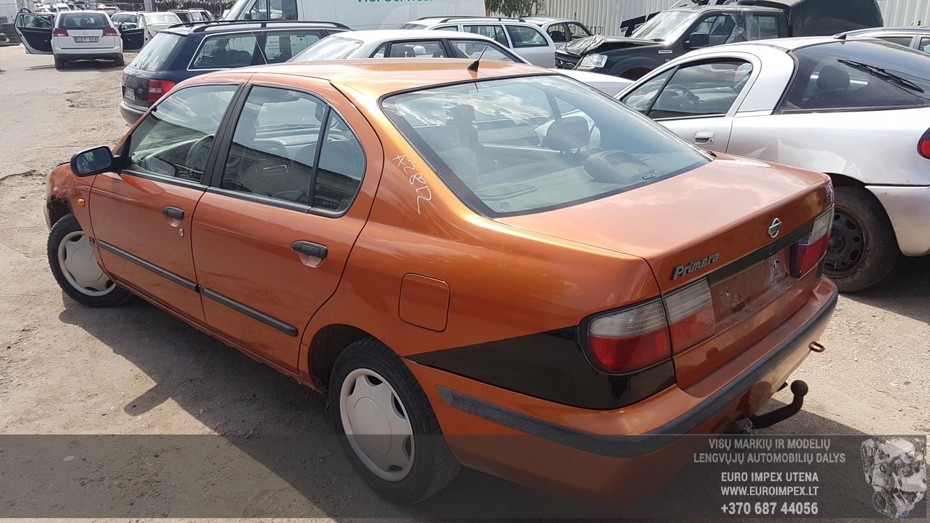 Naudotos automobiliu dallys Foto 7 Nissan PRIMERA 1997 2.0 Mechaninė Sedanas 4/5 d. Oranzine 2016-5-31 A2812