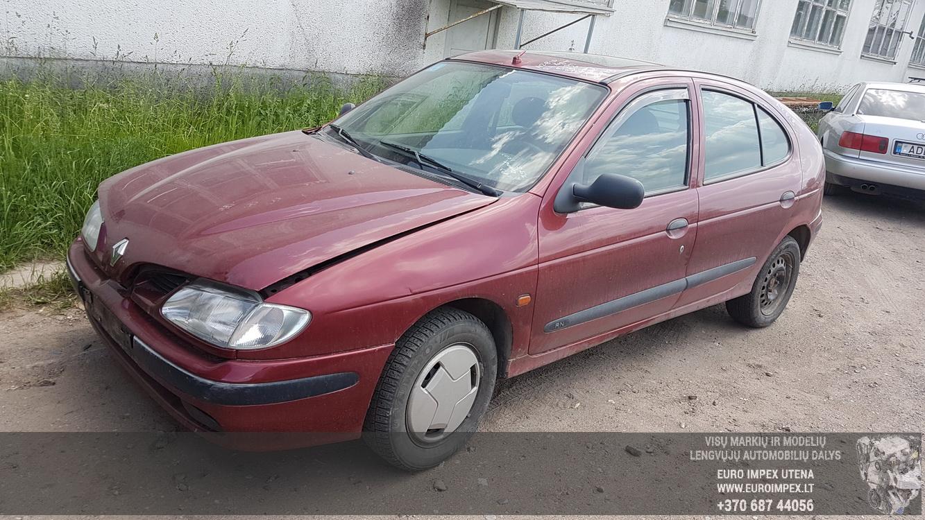 Naudotos automobiliu dallys Foto 1 Renault MEGANE 1996 1.9 Mechaninė Hečbekas 4/5 d. Raudona 2016-5-31 A2813