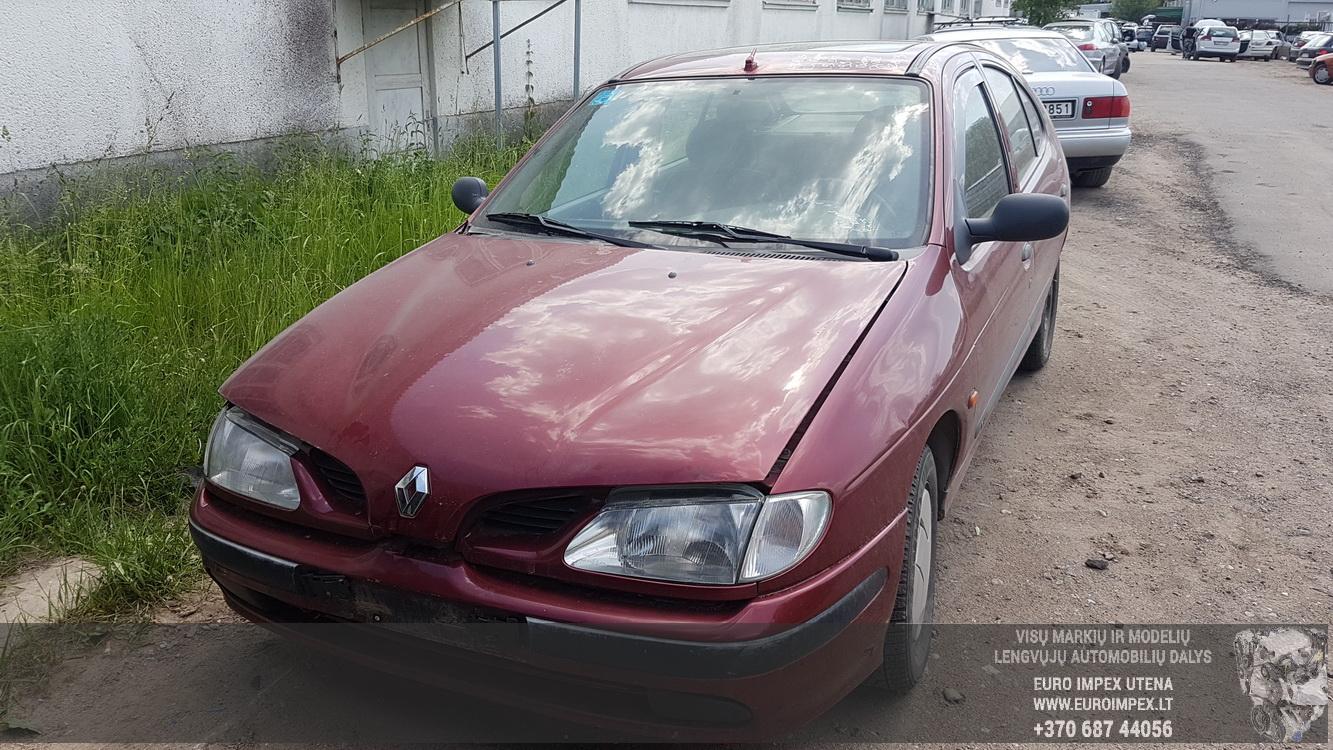 Naudotos automobiliu dallys Foto 2 Renault MEGANE 1996 1.9 Mechaninė Hečbekas 4/5 d. Raudona 2016-5-31 A2813