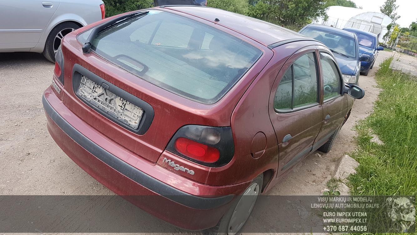 Naudotos automobiliu dallys Foto 5 Renault MEGANE 1996 1.9 Mechaninė Hečbekas 4/5 d. Raudona 2016-5-31 A2813