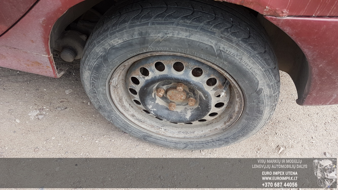 Naudotos automobiliu dallys Foto 7 Renault MEGANE 1996 1.9 Mechaninė Hečbekas 4/5 d. Raudona 2016-5-31 A2813