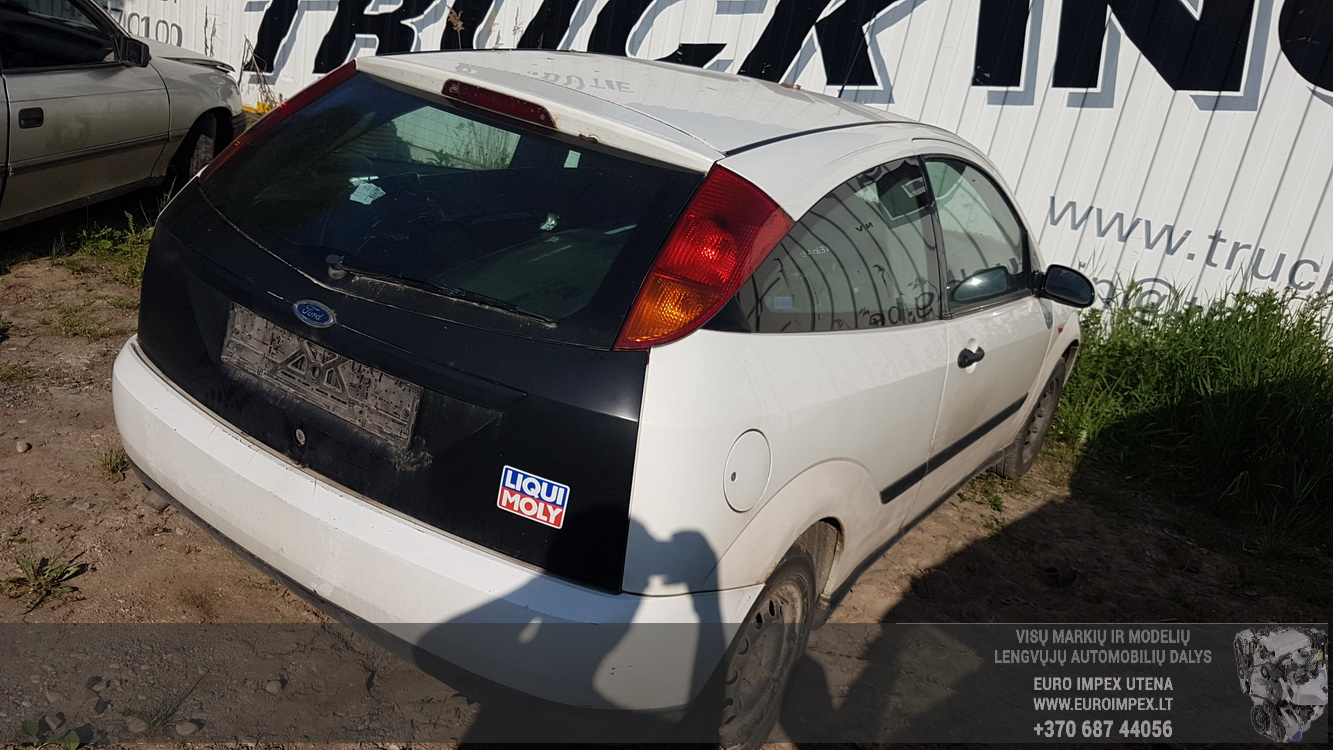 Naudotos automobiliu dallys Foto 7 Ford FOCUS 2001 1.8 Mechaninė Hečbekas 2/3 d. Balta 2016-6-02 A2817