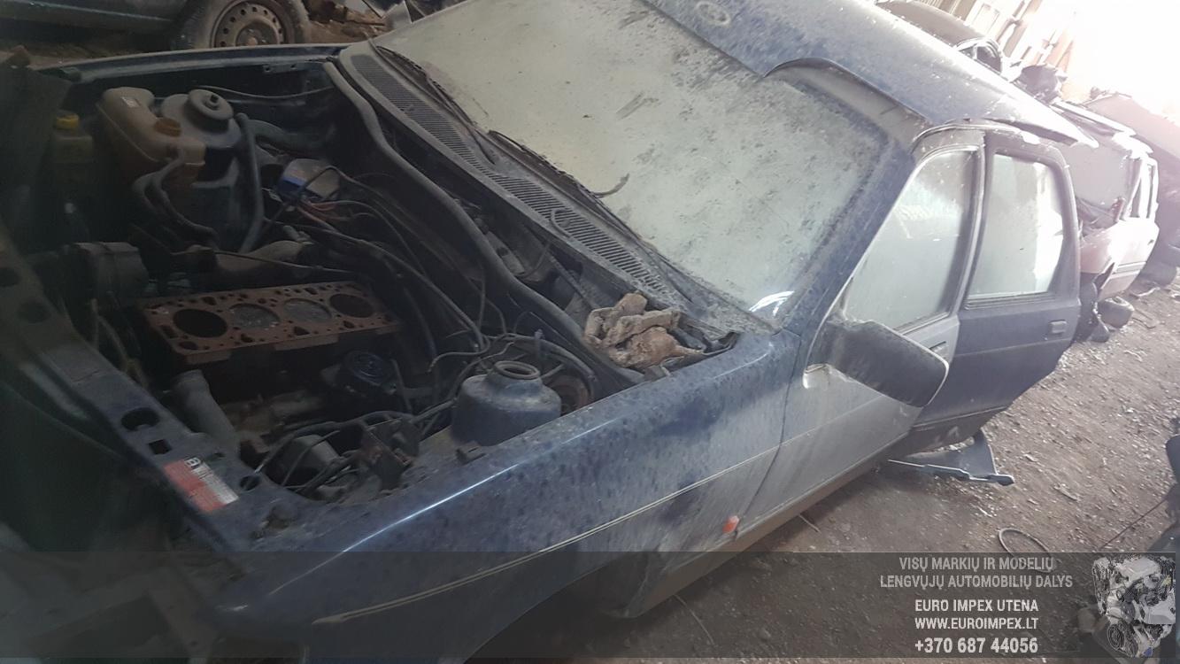 Naudotos automobilio dalys Ford SIERRA 1989 2.3 Mechaninė Sedanas 4/5 d. Melyna 2016-6-02
