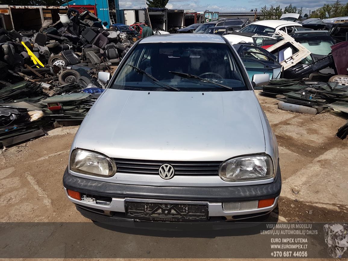 Naudotos automobiliu dallys Foto 2 Volkswagen GOLF 1992 1.8 Mechaninė Hečbekas 2/3 d. Pilka 2016-6-09 A2840