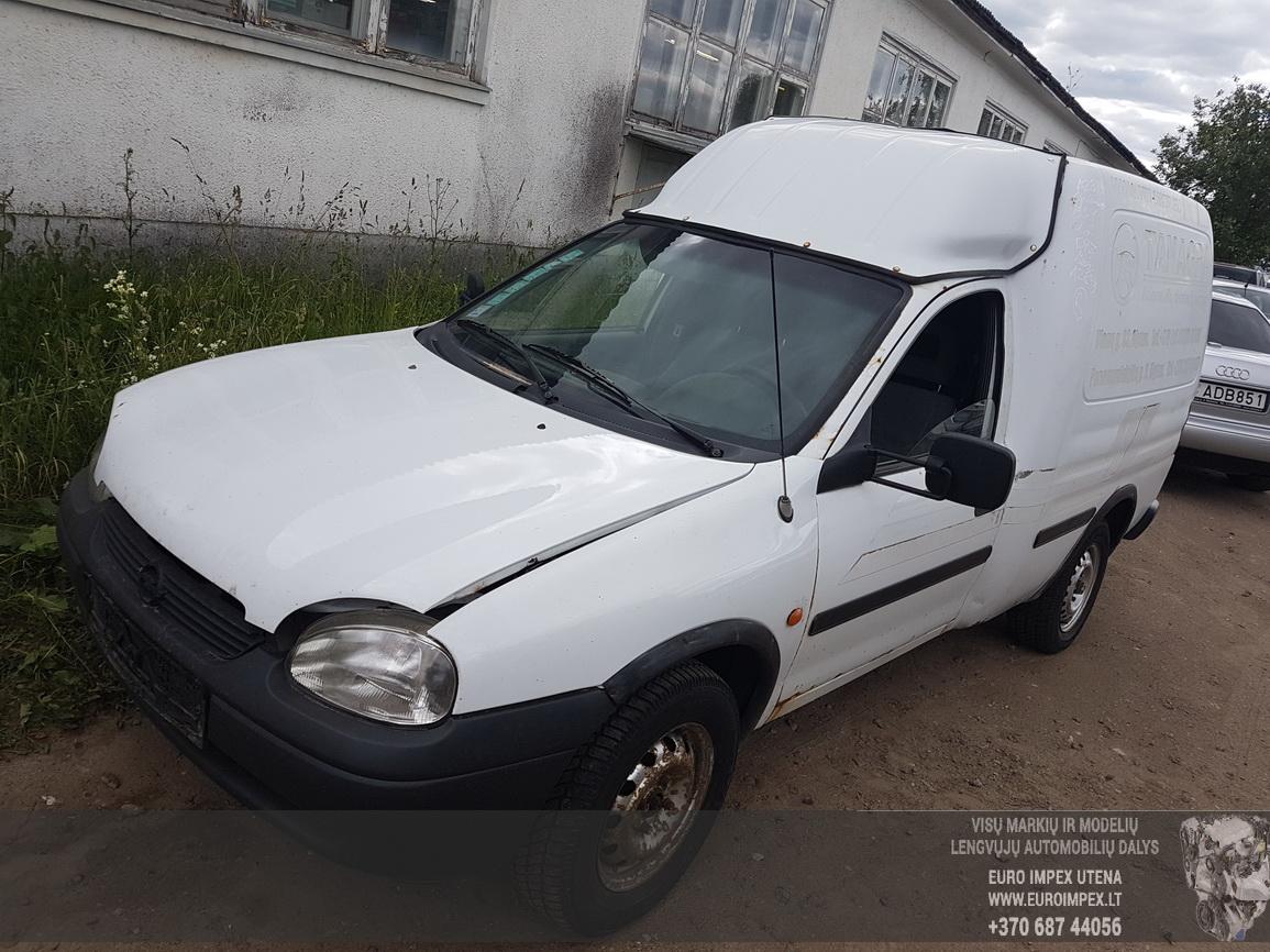 Naudotos automobilio dalys Opel COMBO 1994 1.7 Mechaninė Komercinis 2/3 d. Balta 2016-6-09