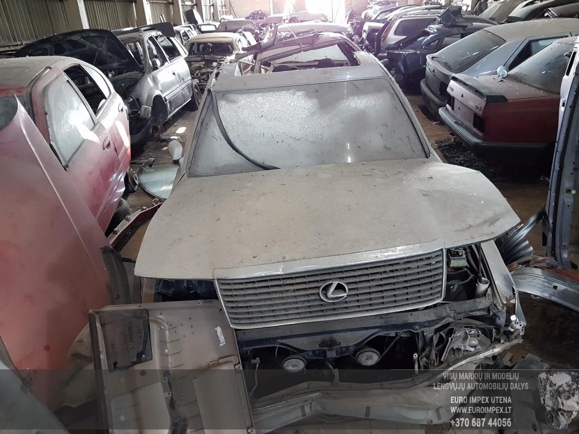 Naudotos automobiliu dallys Foto 5 Lexus LS - CLASS 1992 4.0 Automatinė Sedanas 4/5 d. Pilka 2016-6-13 A2853