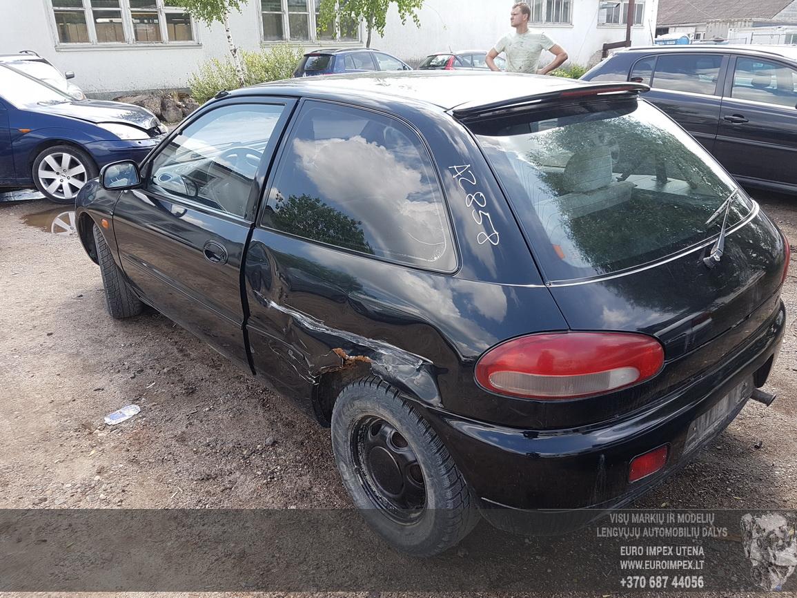 Naudotos automobilio dalys Mitsubishi COLT 1996 1.5 Mechaninė Hečbekas 2/3 d. Juoda 2016-6-16