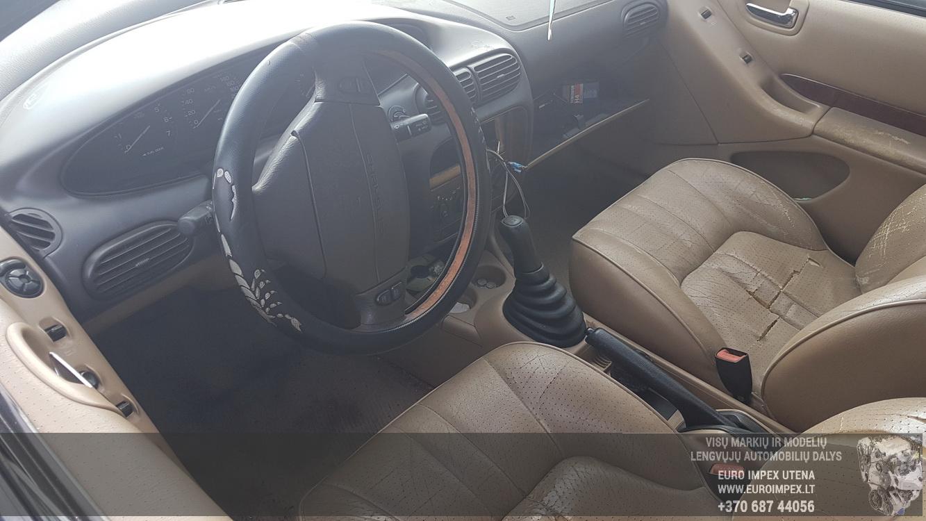 Naudotos automobilio dalys Chrysler STRATUS 1996 2.0 Mechaninė Sedanas 4/5 d. Zalia 2016-6-21