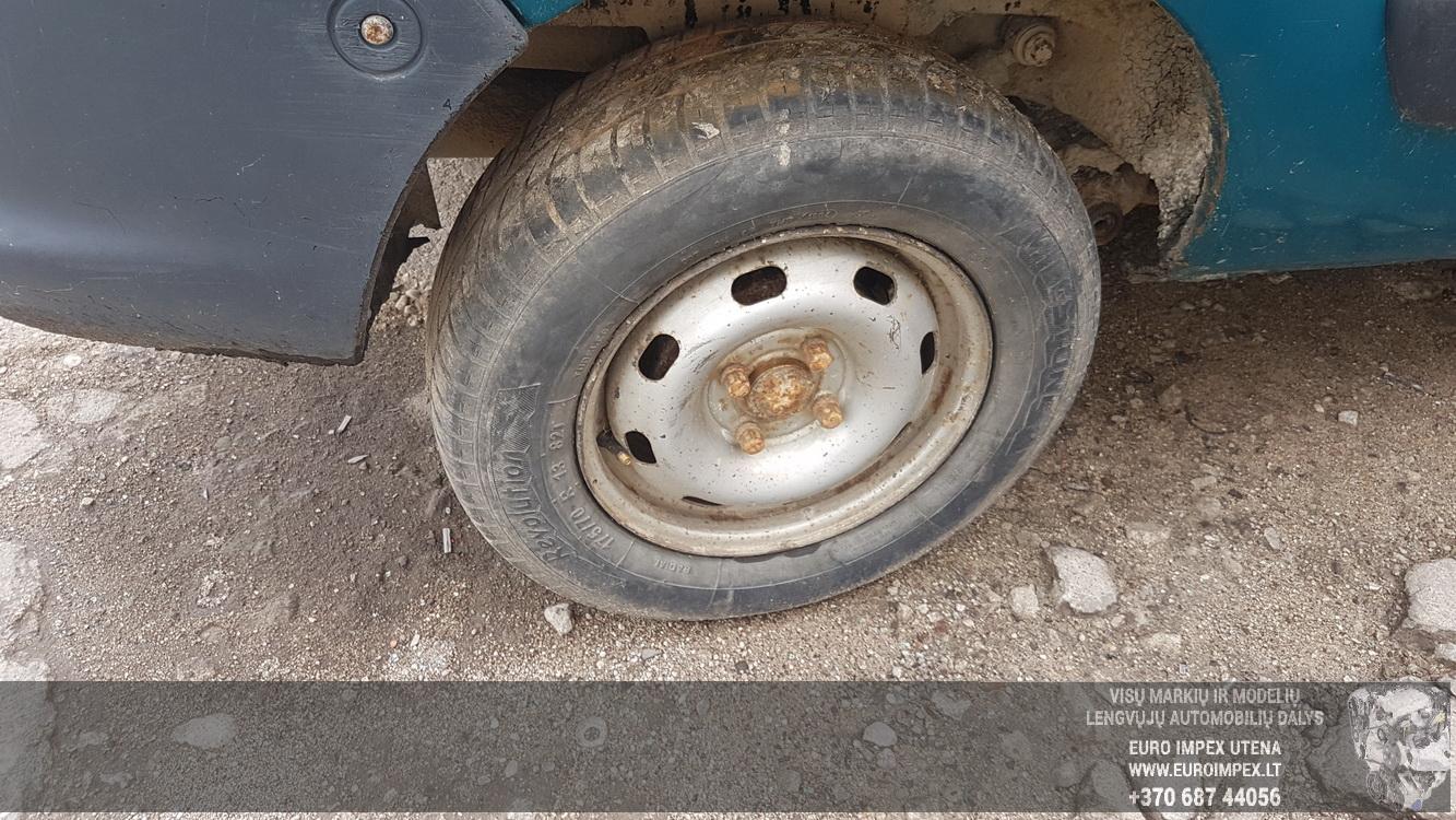 Naudotos automobilio dalys Renault KANGOO 2002 1.9 Mechaninė Komercinis 2/3 d. Zalia 2016-6-21