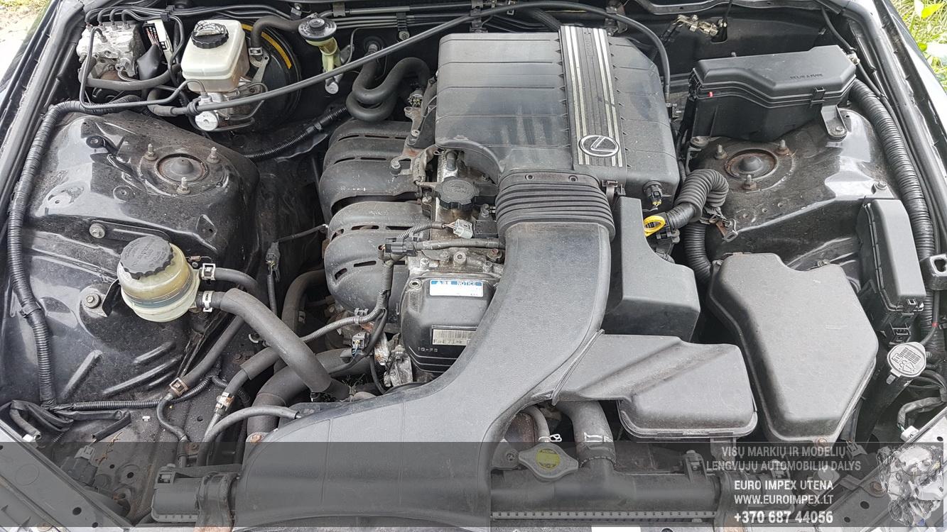 Naudotos automobiliu dallys Foto 8 Lexus IS - CLASS 2002 2.0 Mechaninė Sedanas 4/5 d. Juoda 2016-6-22 A2866