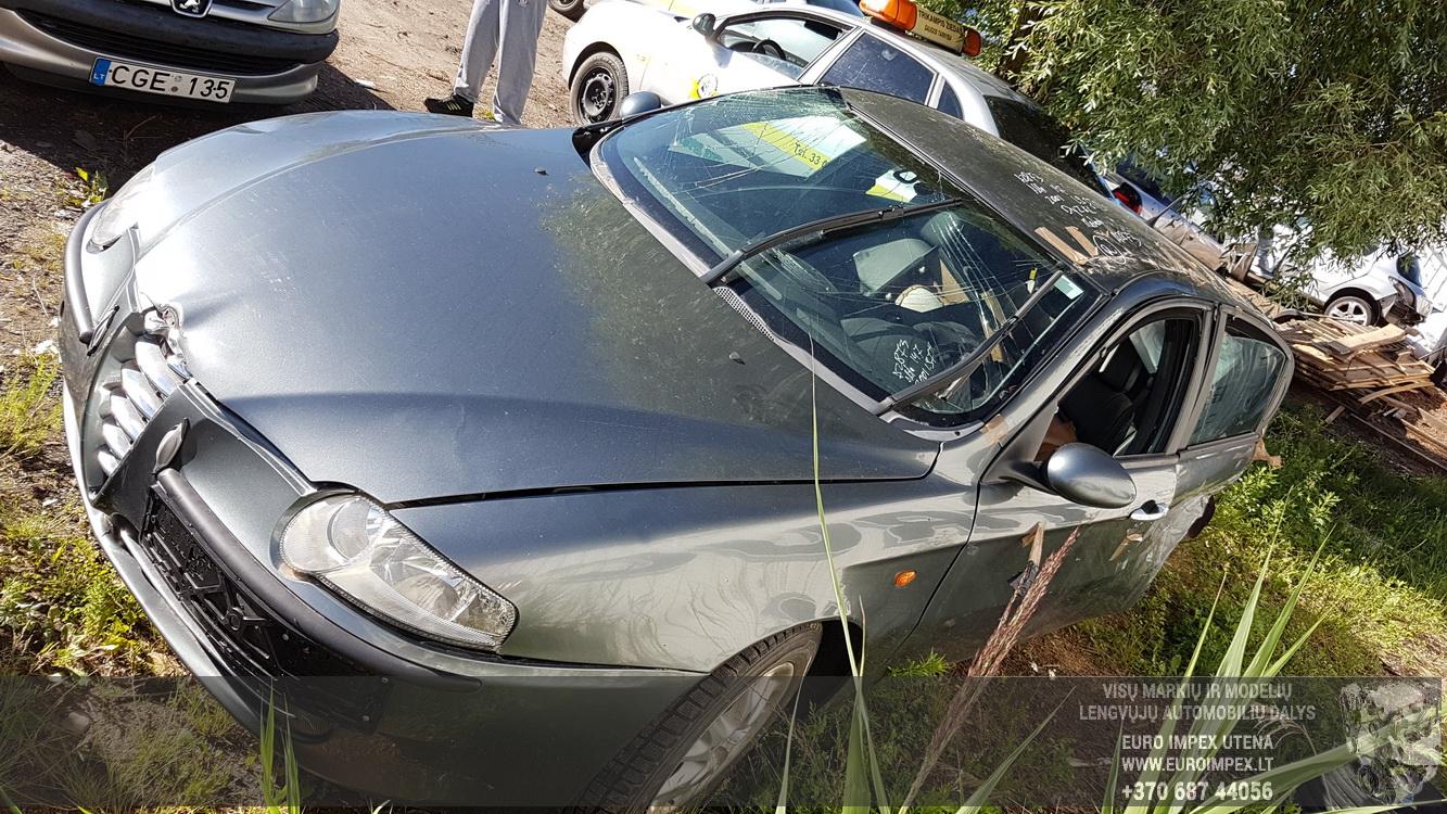 Naudotos automobiliu dallys Foto 4 Alfa-Romeo 147 2001 1.9 Mechaninė Hečbekas 4/5 d. Pilka 2016-6-23 A2873