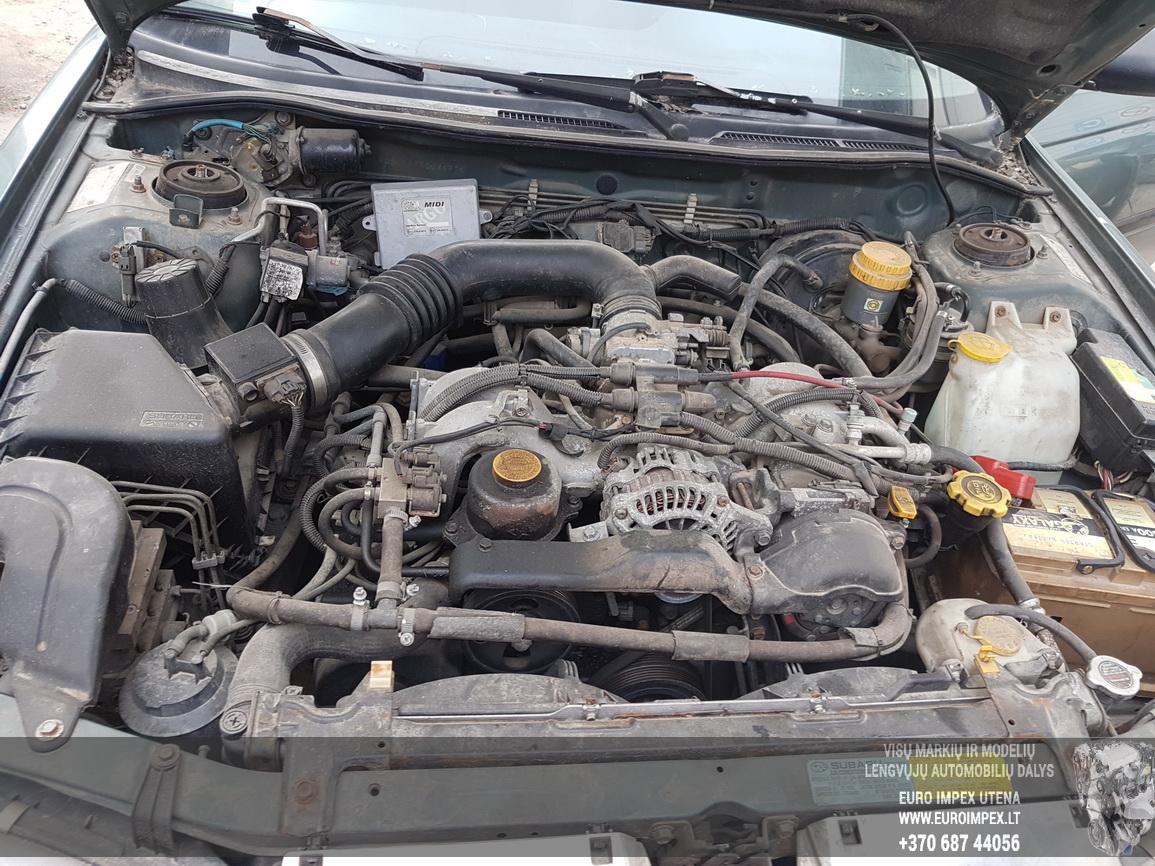 Naudotos automobiliu dallys Foto 8 Subaru LEGACY 1994 2.0 Automatinė Sedanas 4/5 d. Zalia 2016-6-27 A2879