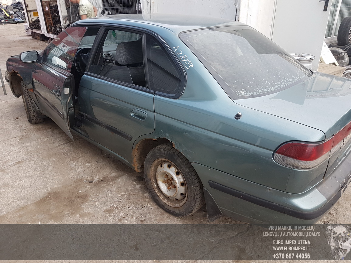 Naudotos automobilio dalys Subaru LEGACY 1994 2.0 Automatinė Sedanas 4/5 d. Zalia 2016-6-27