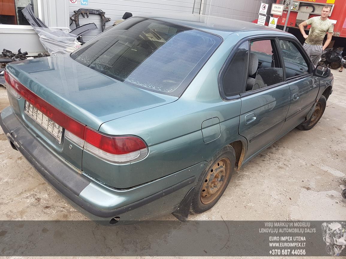 Naudotos automobiliu dallys Foto 7 Subaru LEGACY 1994 2.0 Automatinė Sedanas 4/5 d. Zalia 2016-6-27 A2879