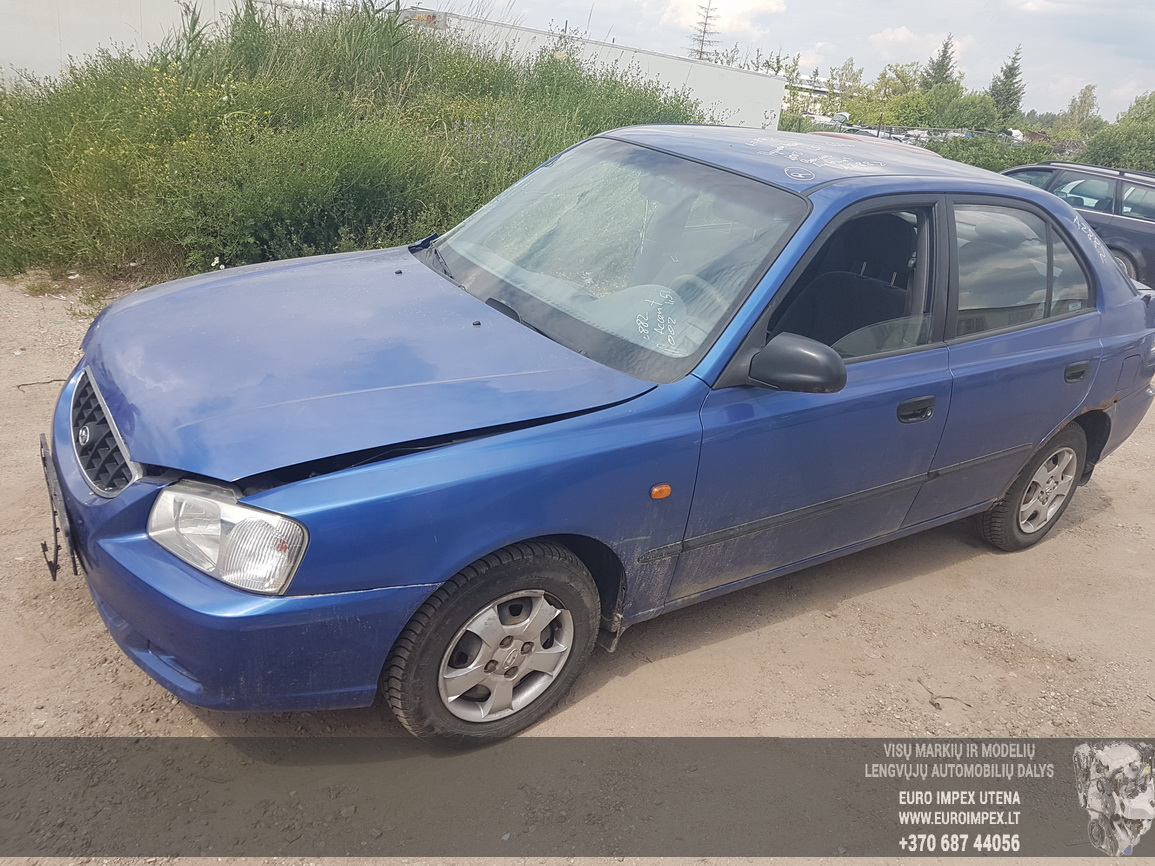 Hyundai ACCENT 2002 1.5 Automatic