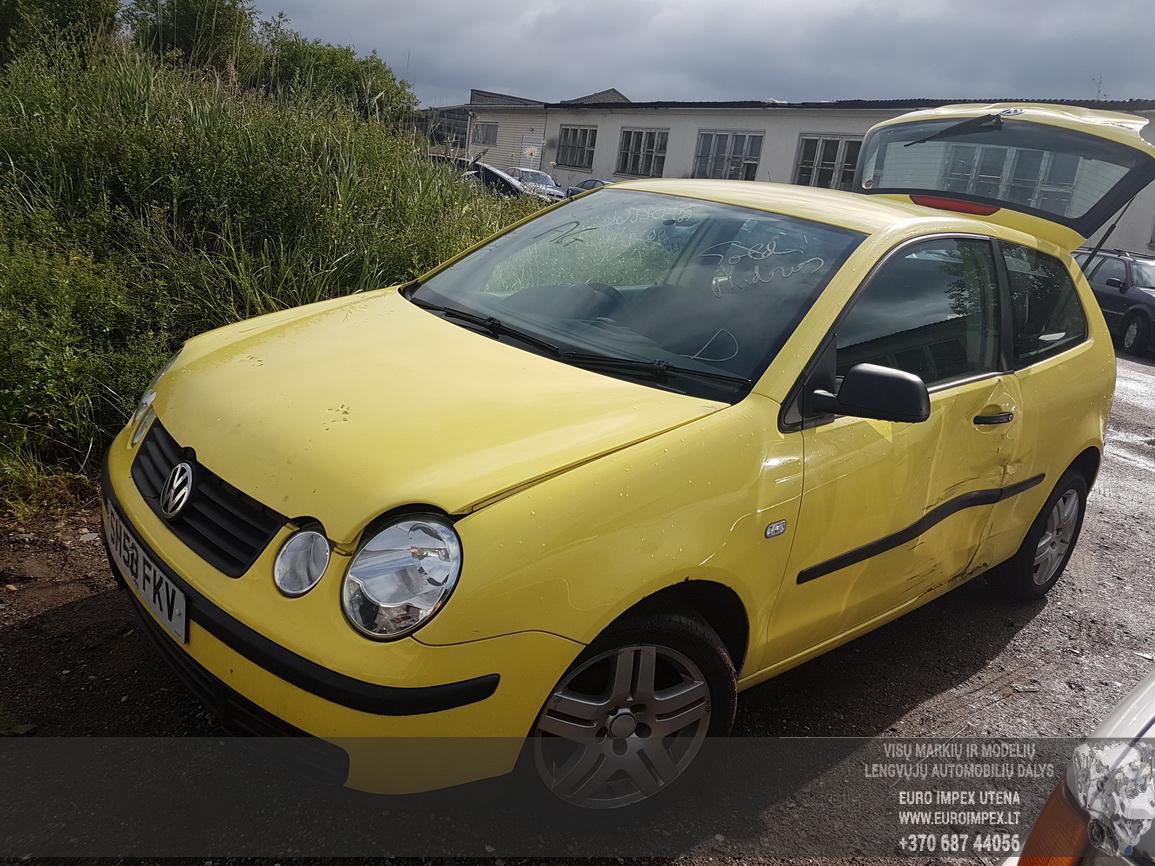 Volkswagen POLO 2003 1.2 Mechaninė