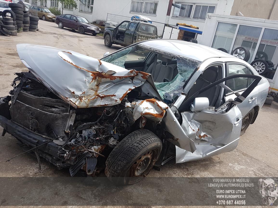 Naudotos automobilio dalys Hyundai SONATA 2006 2.0 Mechaninė Sedanas 4/5 d. Pilka 2016-7-08