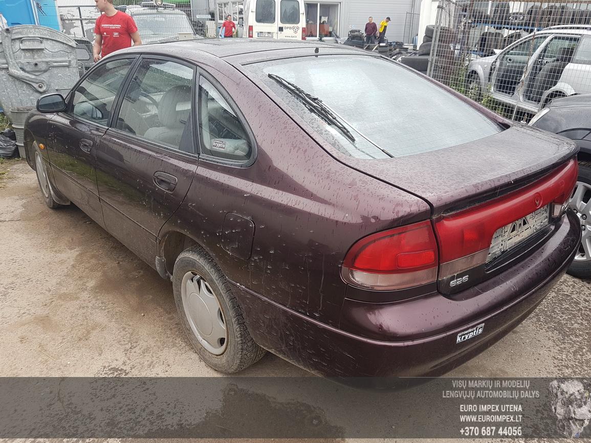 Naudotos automobilio dalys Mazda 626 1996 1.8 Mechaninė Hečbekas 4/5 d. Vysnine 2016-7-08
