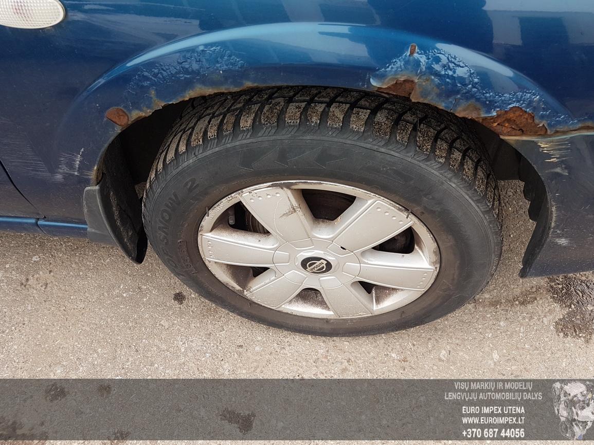 Naudotos automobiliu dallys Foto 4 Nissan ALMERA 2000 1.8 Mechaninė Hečbekas 4/5 d. Melyna 2016-7-14 A2899