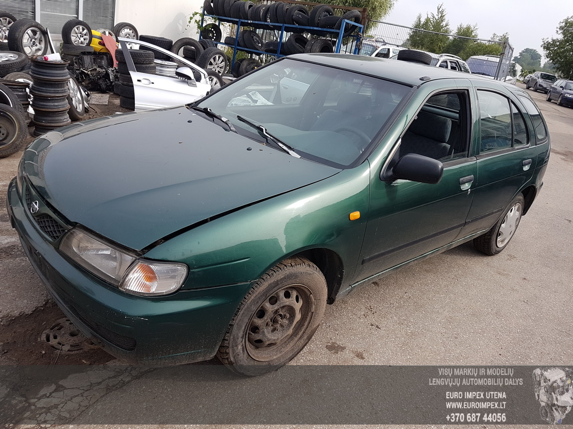 Nissan ALMERA 1996 2.0 Mechanical