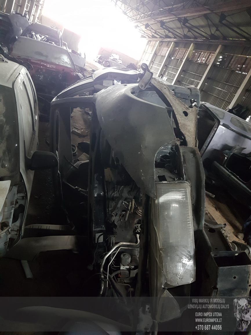 Naudotos automobilio dalys Mitsubishi GALANT 2002 3.0 Mechaninė Sedanas 4/5 d. Juoda 2016-7-15