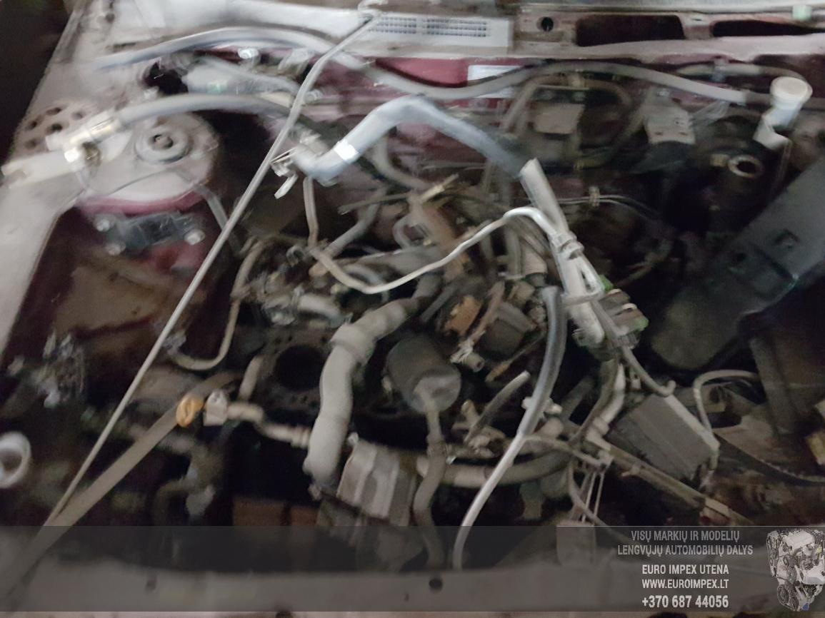 Naudotos automobiliu dallys Foto 3 Nissan ALMERA 1997 2.0 Mechaninė Sedanas 4/5 d. Raudona 2016-7-15 A2907