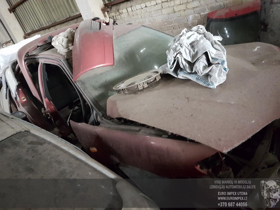 Naudotos automobiliu dallys Foto 4 Nissan ALMERA 1997 2.0 Mechaninė Sedanas 4/5 d. Raudona 2016-7-15 A2907
