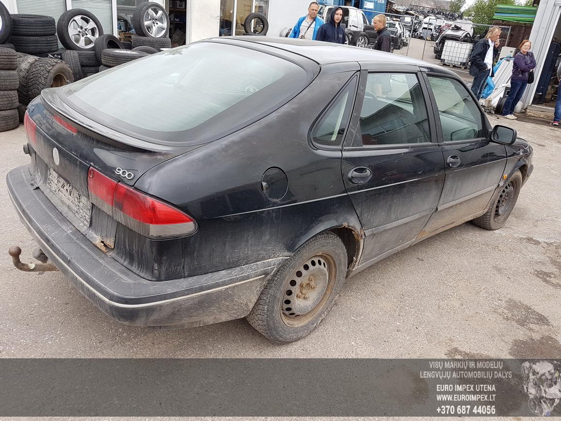 Naudotos automobilio dalys SAAB 900 1995 2.0 Mechaninė Hečbekas 4/5 d. Juoda 2016-7-15