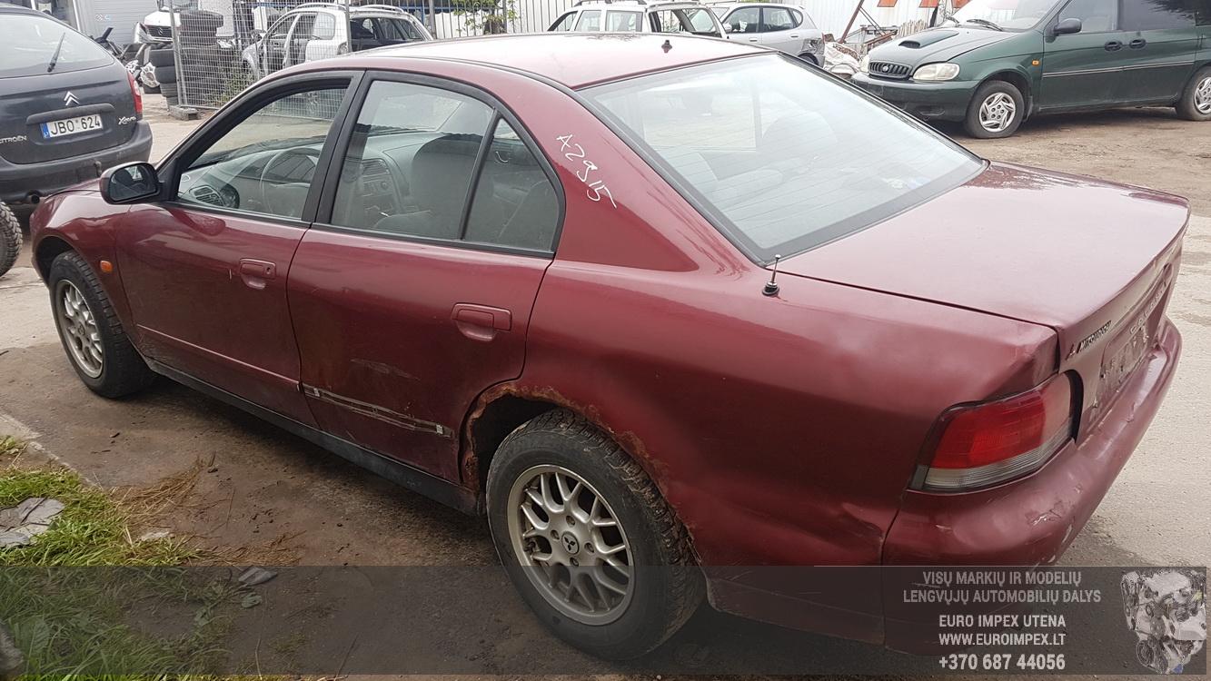 Naudotos automobilio dalys Mitsubishi GALANT 1999 2.0 Automatinė Sedanas 4/5 d. Raudona 2016-7-21