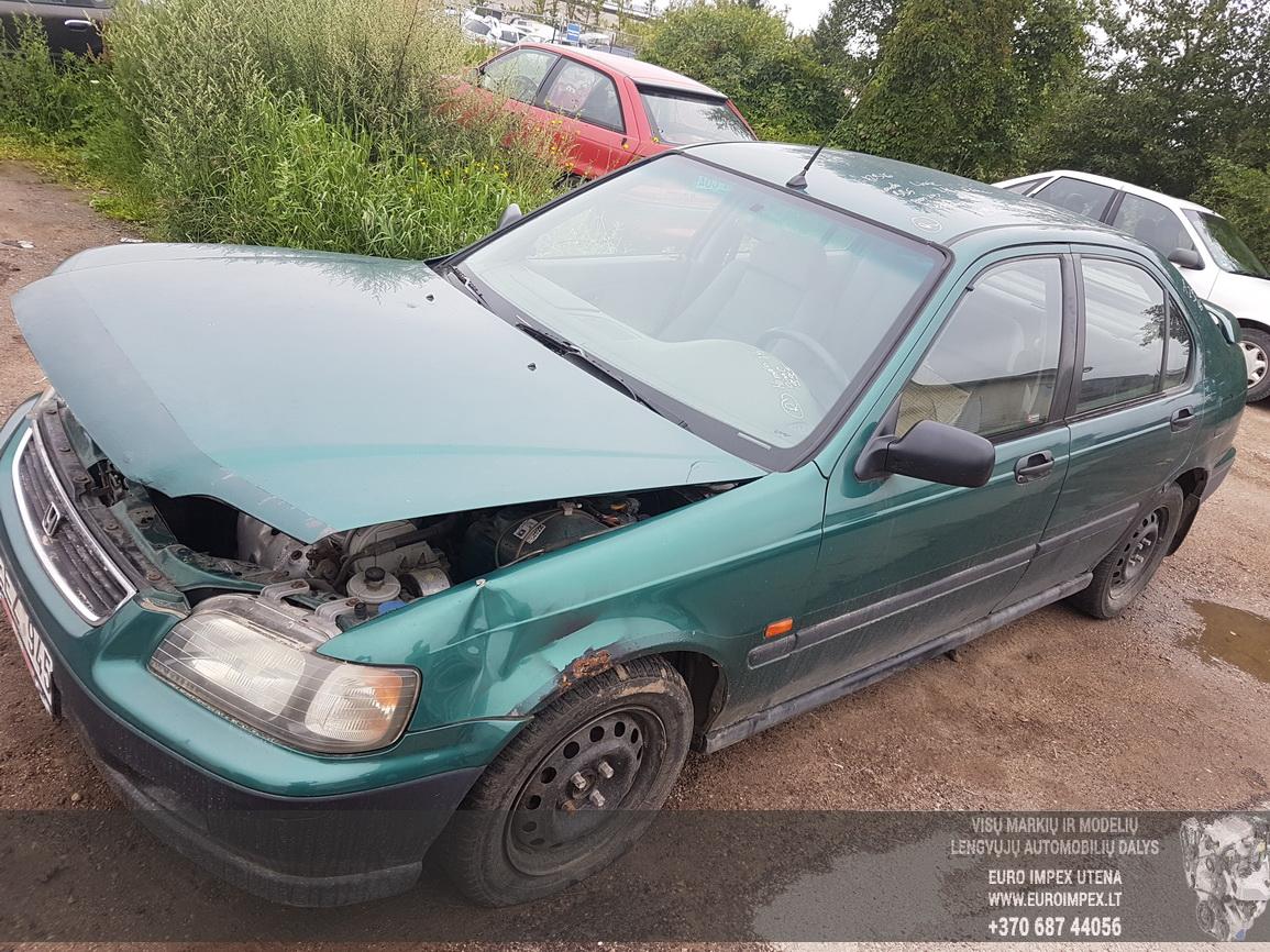 Naudotos automobilio dalys Honda CIVIC 1995 1.4 Mechaninė Hečbekas 4/5 d. Zalia 2016-7-21