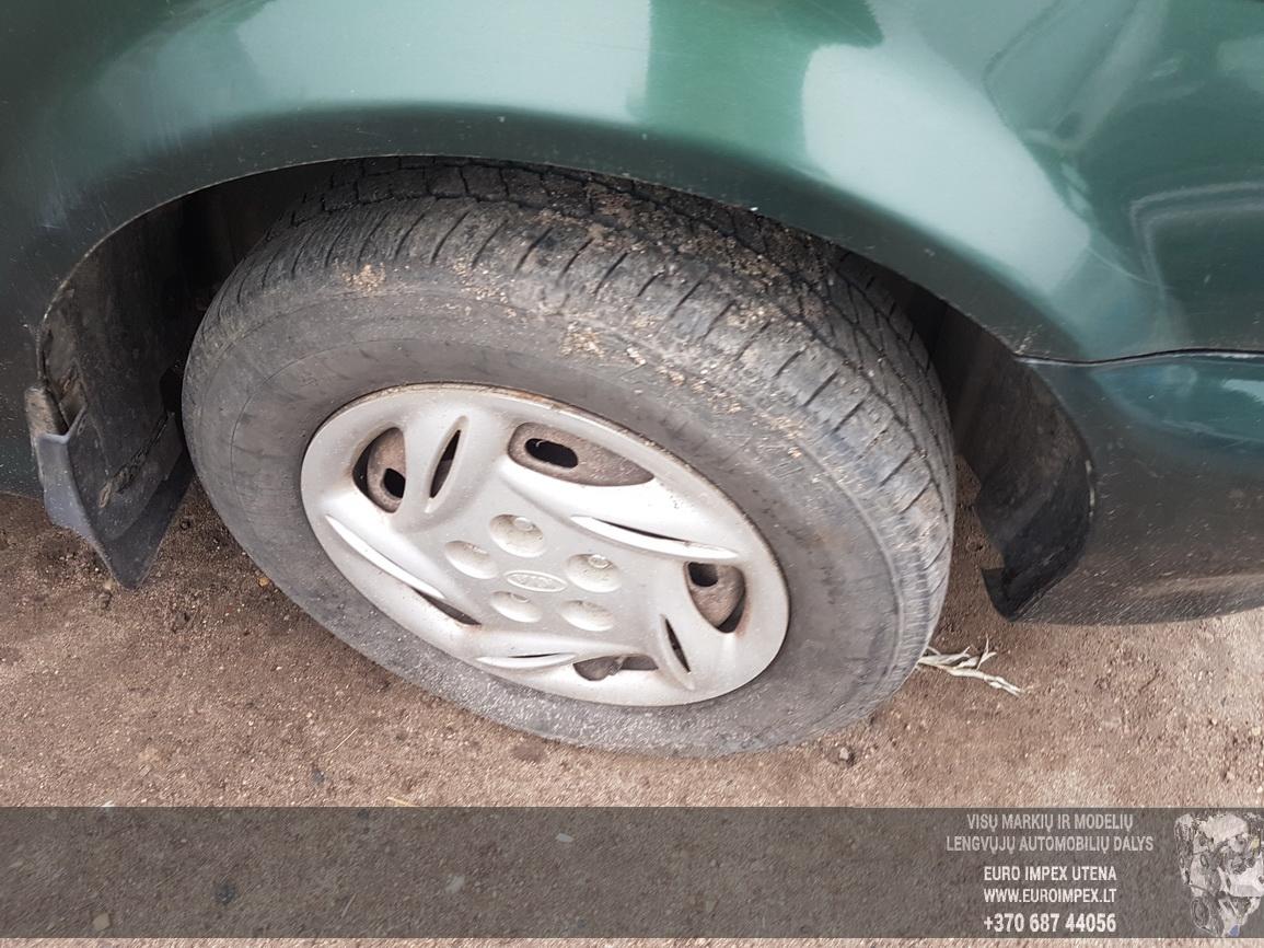Naudotos automobiliu dallys Foto 4 Kia CARNIVAL 1999 2.9 Mechaninė Vienatūris 4/5 d. Zalia 2016-7-21 A2917