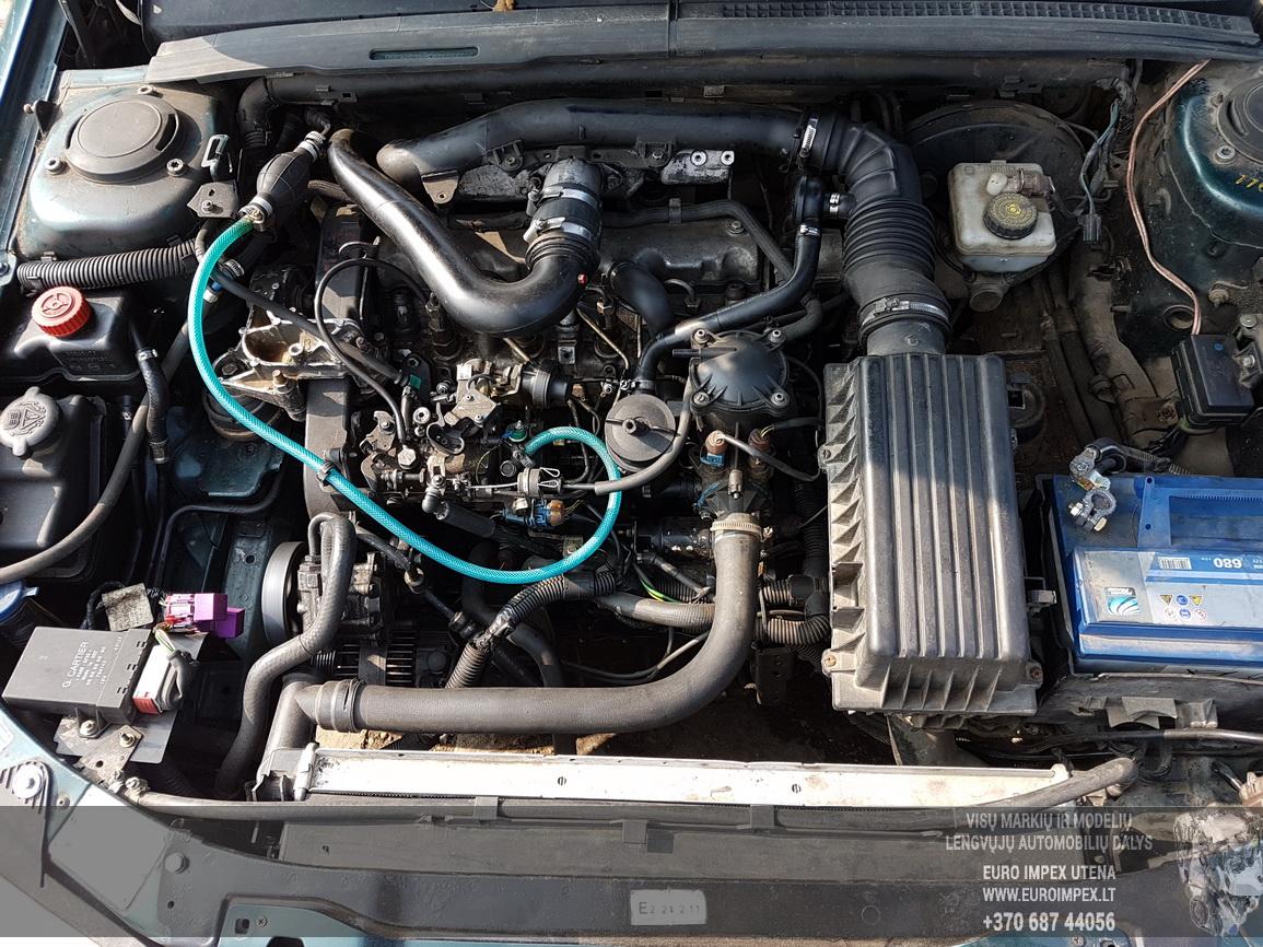 Naudotos automobiliu dallys Foto 8 Peugeot 406 1999 1.9 Mechaninė Sedanas 4/5 d. Zalia 2016-7-26 A2927
