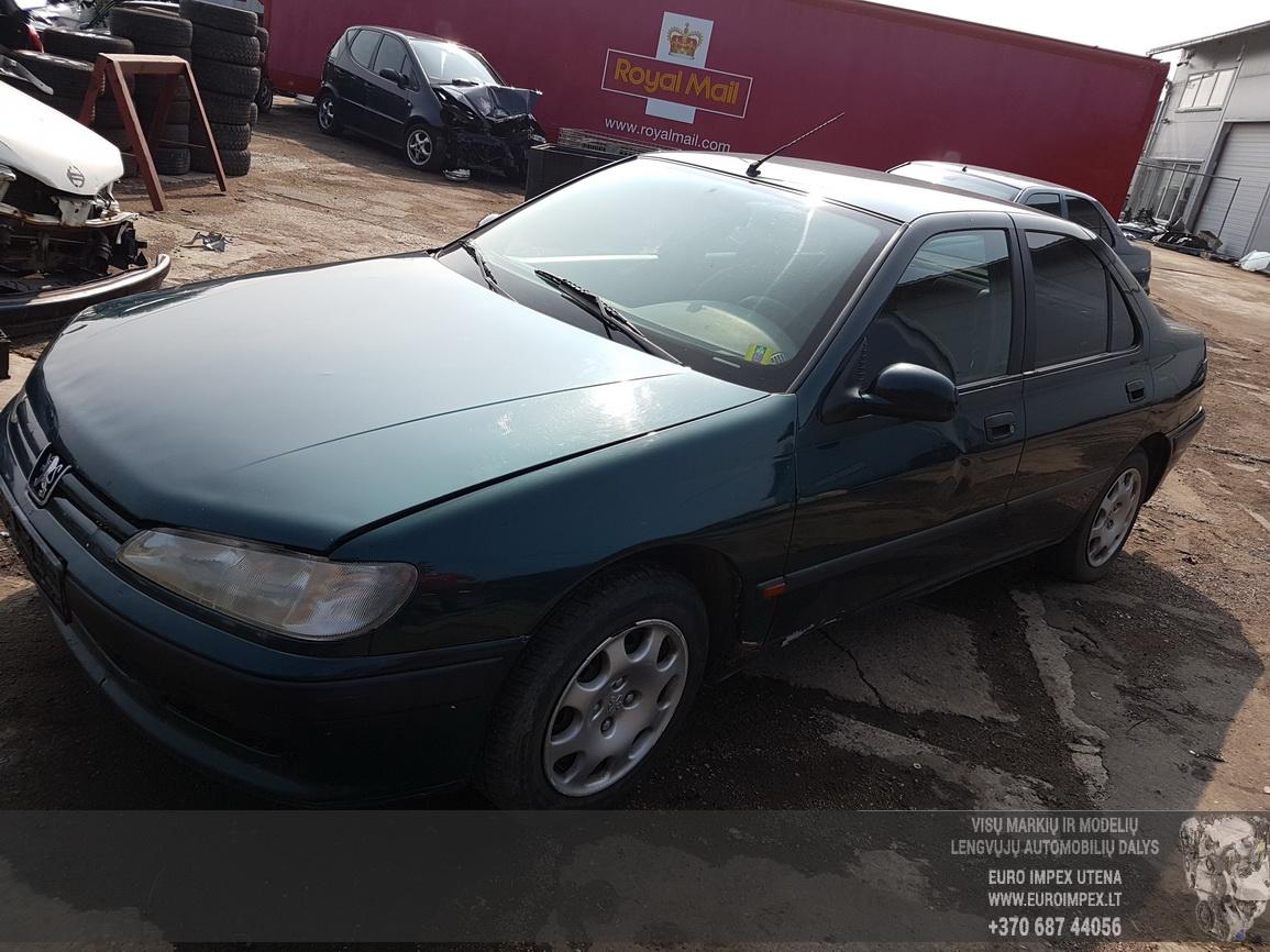 Naudotos automobiliu dallys Foto 1 Peugeot 406 1999 1.9 Mechaninė Sedanas 4/5 d. Zalia 2016-7-26 A2927