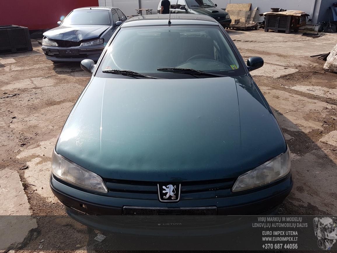 Naudotos automobiliu dallys Foto 2 Peugeot 406 1999 1.9 Mechaninė Sedanas 4/5 d. Zalia 2016-7-26 A2927