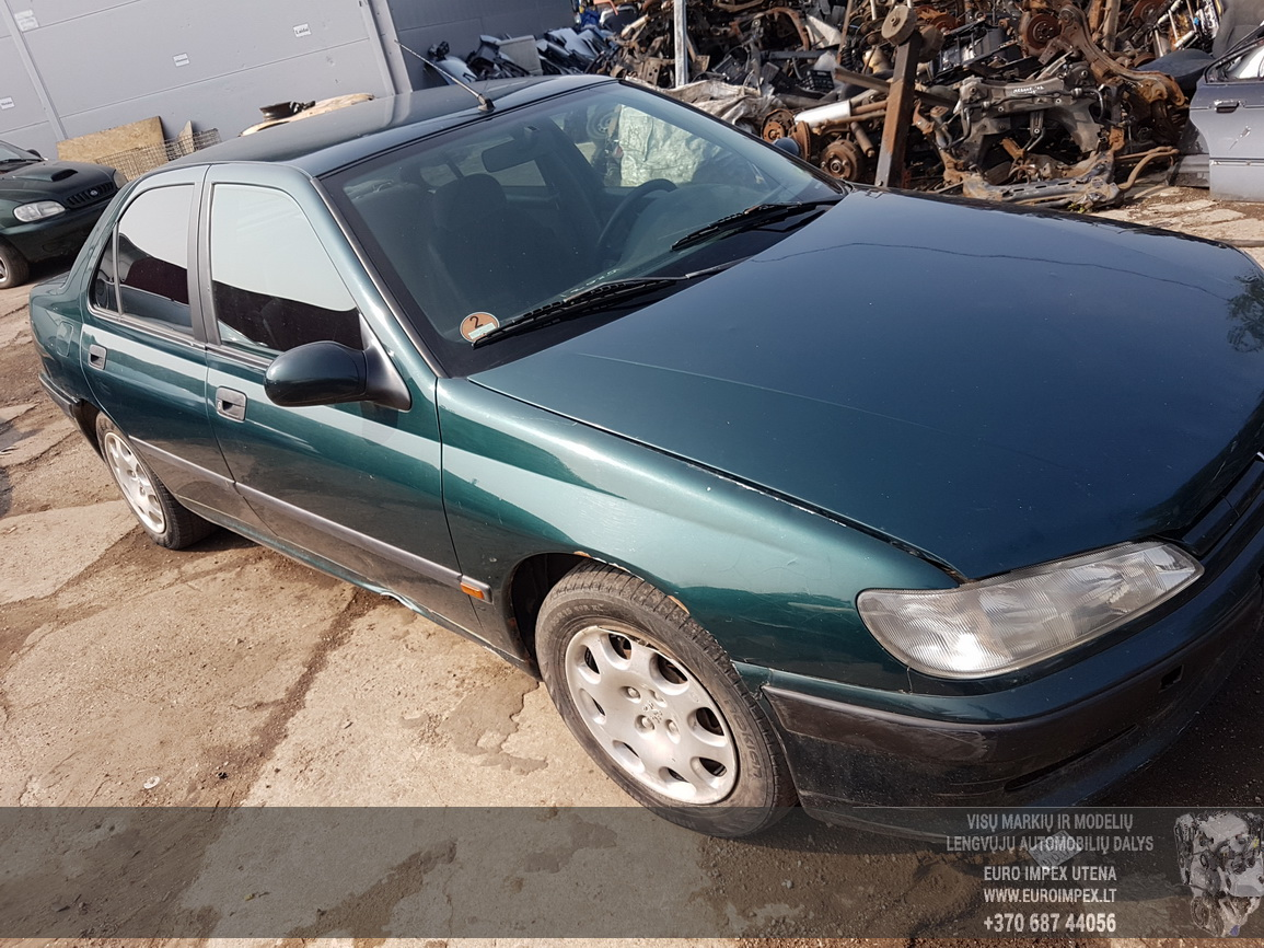 Naudotos automobiliu dallys Foto 3 Peugeot 406 1999 1.9 Mechaninė Sedanas 4/5 d. Zalia 2016-7-26 A2927