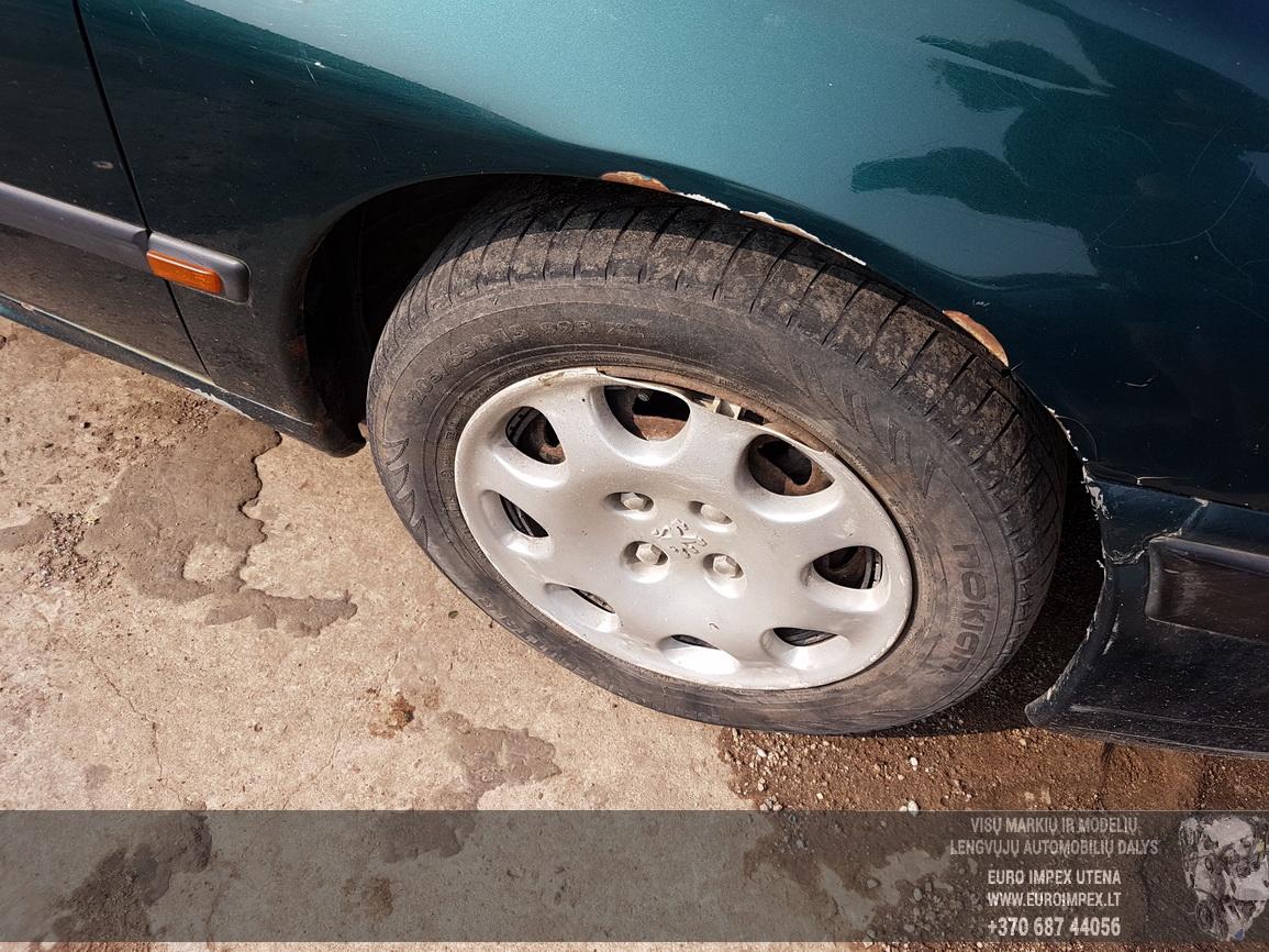 Naudotos automobiliu dallys Foto 4 Peugeot 406 1999 1.9 Mechaninė Sedanas 4/5 d. Zalia 2016-7-26 A2927