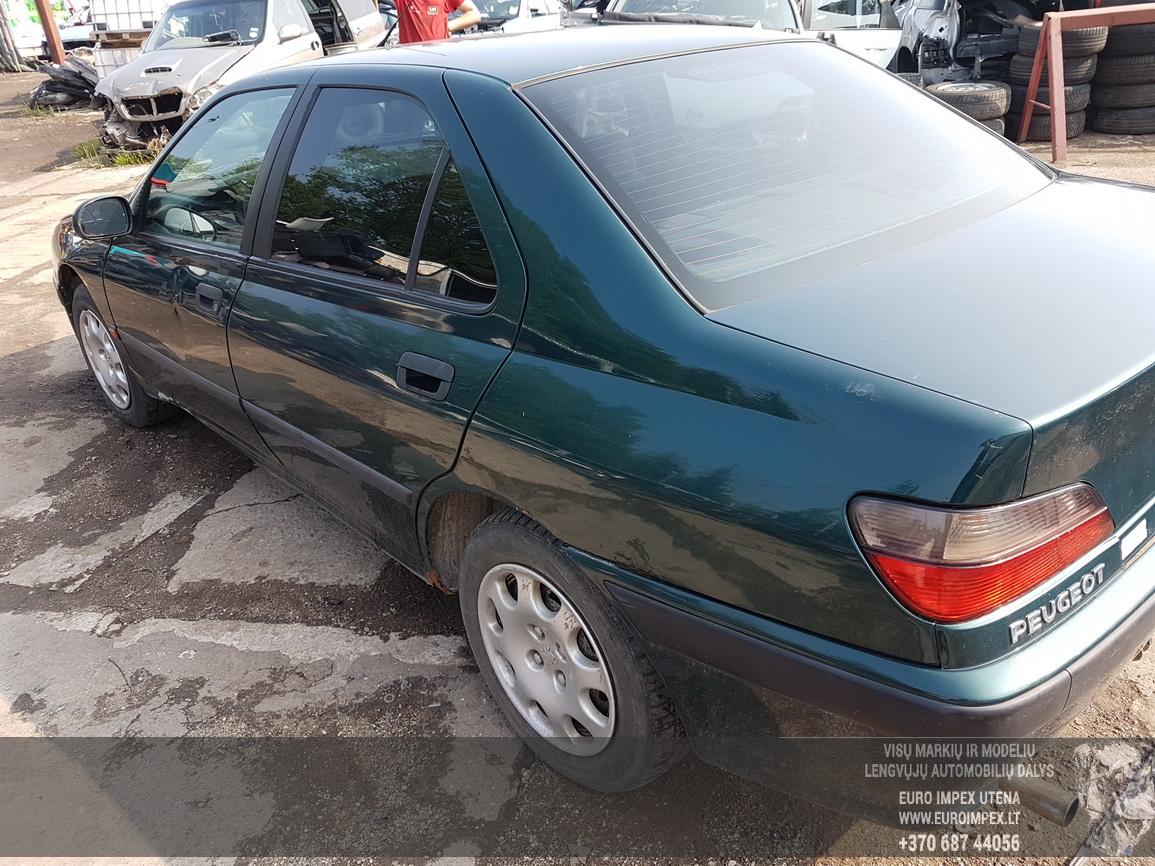 Naudotos automobiliu dallys Foto 7 Peugeot 406 1999 1.9 Mechaninė Sedanas 4/5 d. Zalia 2016-7-26 A2927