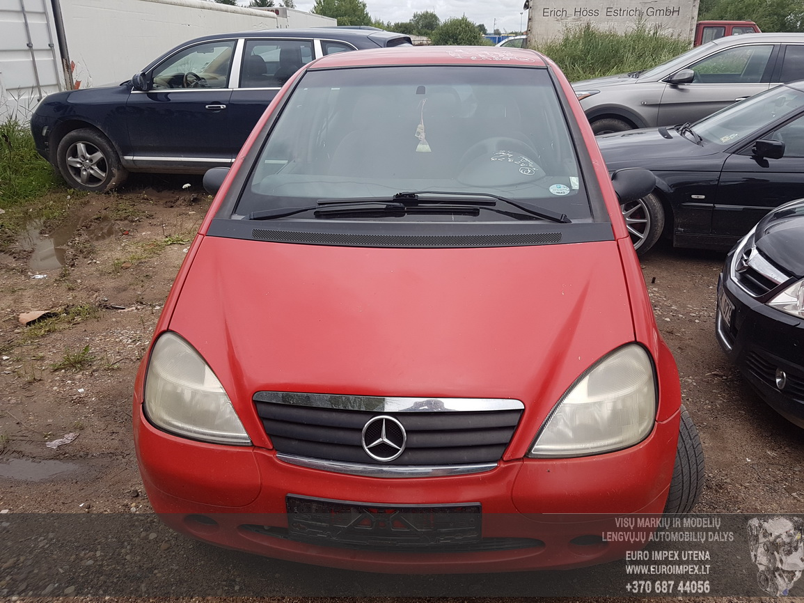 Naudotos automobiliu dallys Foto 2 Mercedes-Benz A-CLASS 2001 1.4 Mechaninė Hečbekas 4/5 d. Raudona 2016-7-29 A2929
