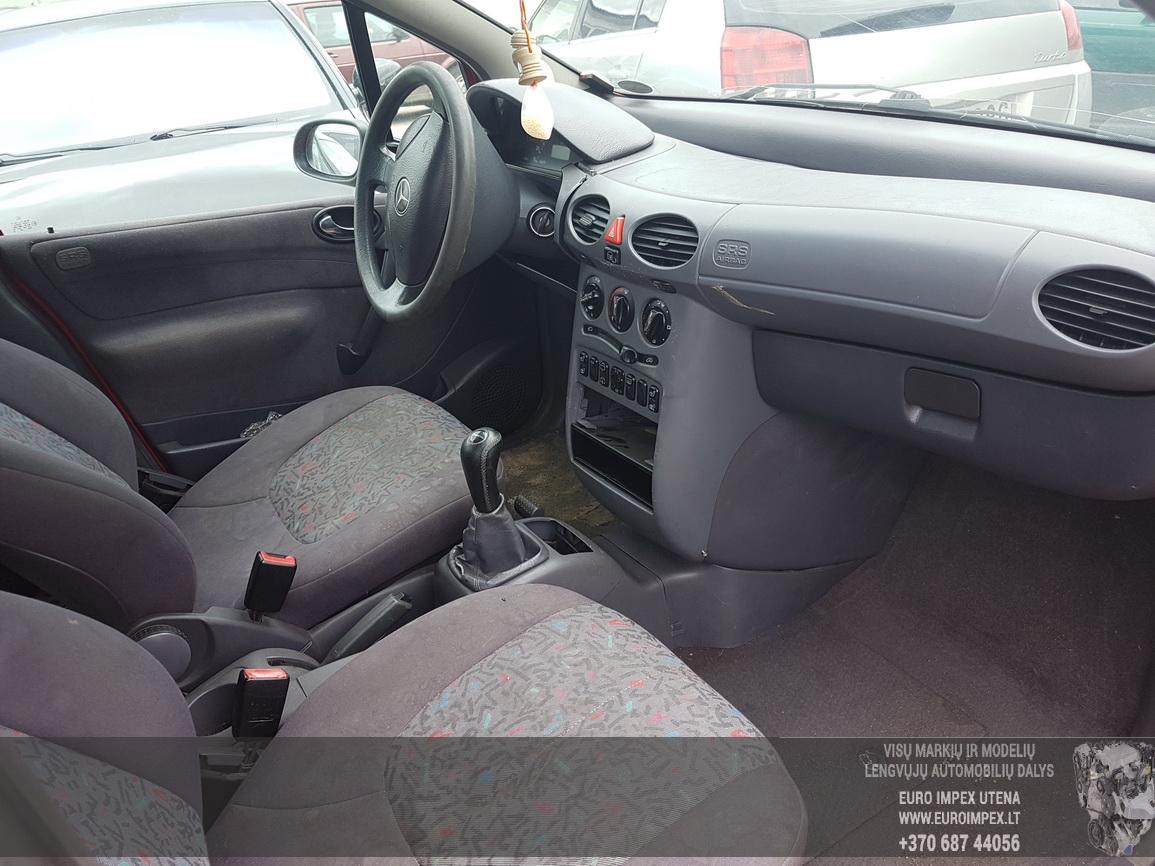 Naudotos automobiliu dallys Foto 5 Mercedes-Benz A-CLASS 2001 1.4 Mechaninė Hečbekas 4/5 d. Raudona 2016-7-29 A2929