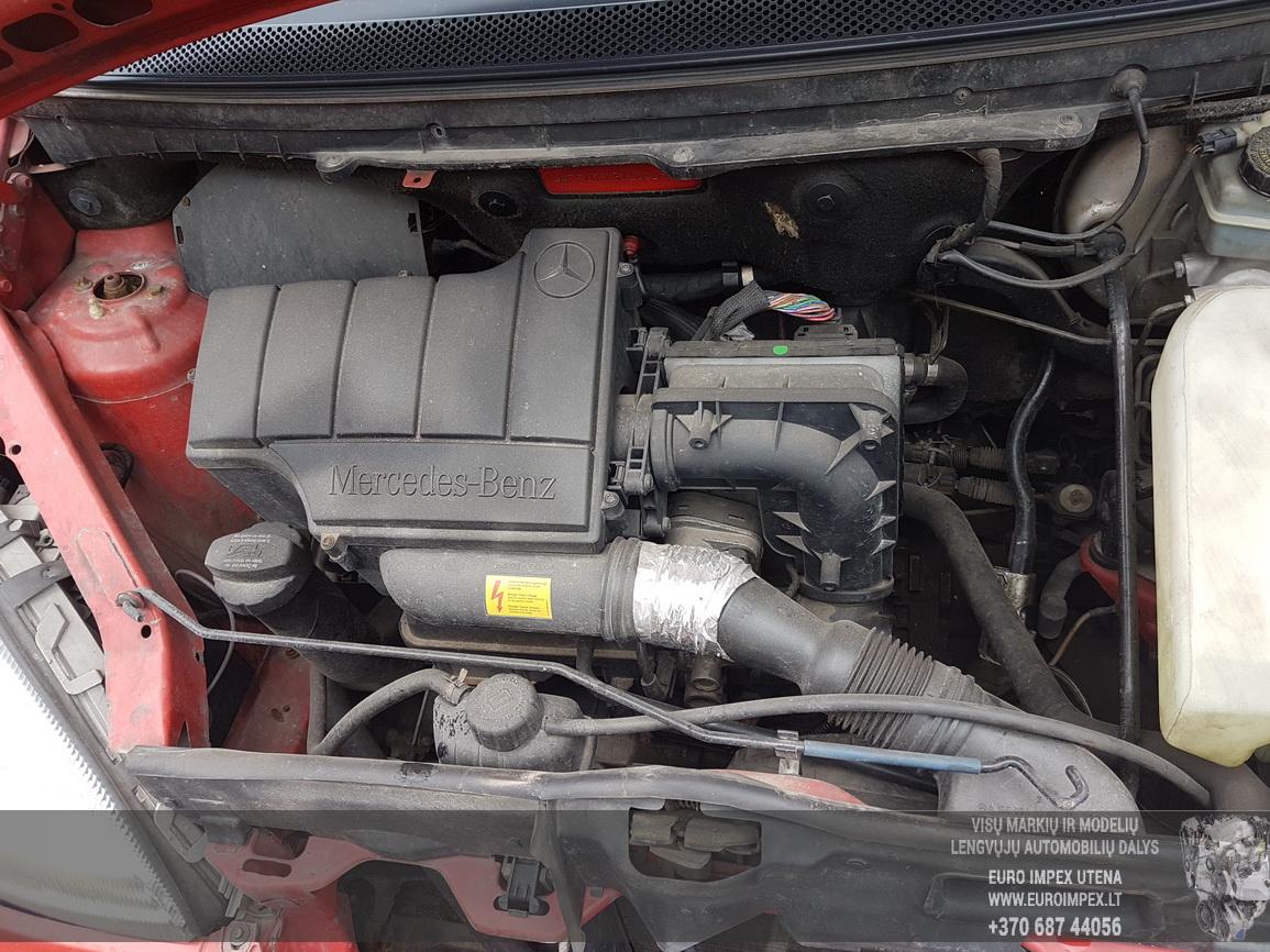 Naudotos automobiliu dallys Foto 8 Mercedes-Benz A-CLASS 2001 1.4 Mechaninė Hečbekas 4/5 d. Raudona 2016-7-29 A2929