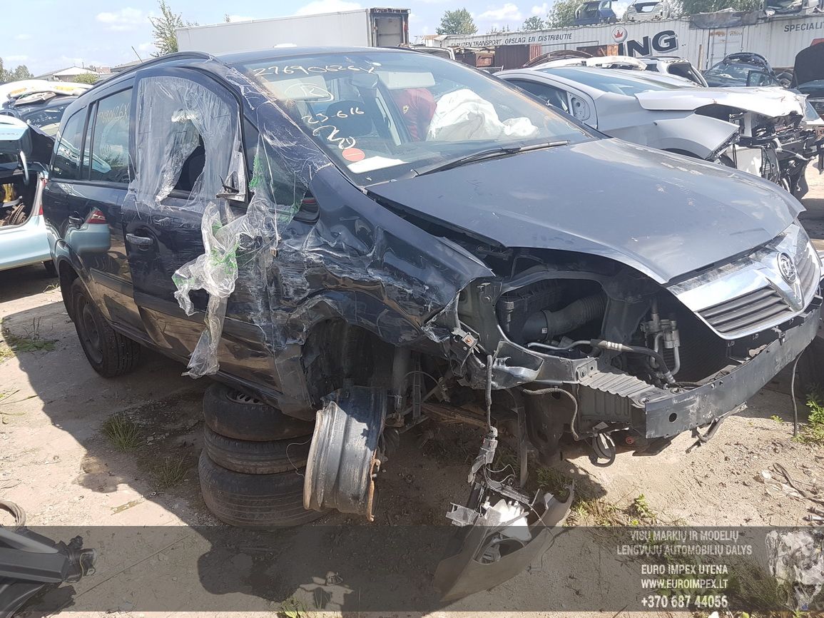 Opel ZAFIRA 2007 1.8 Mechaninė