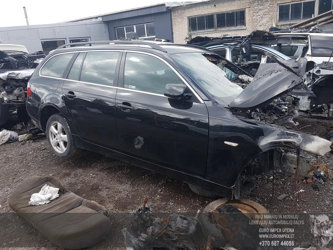 Naudotos automobilio dalys BMW 5-SERIES 2005 3.0 Automatinė Universalas 4/5 d. Juoda 2016-8-10