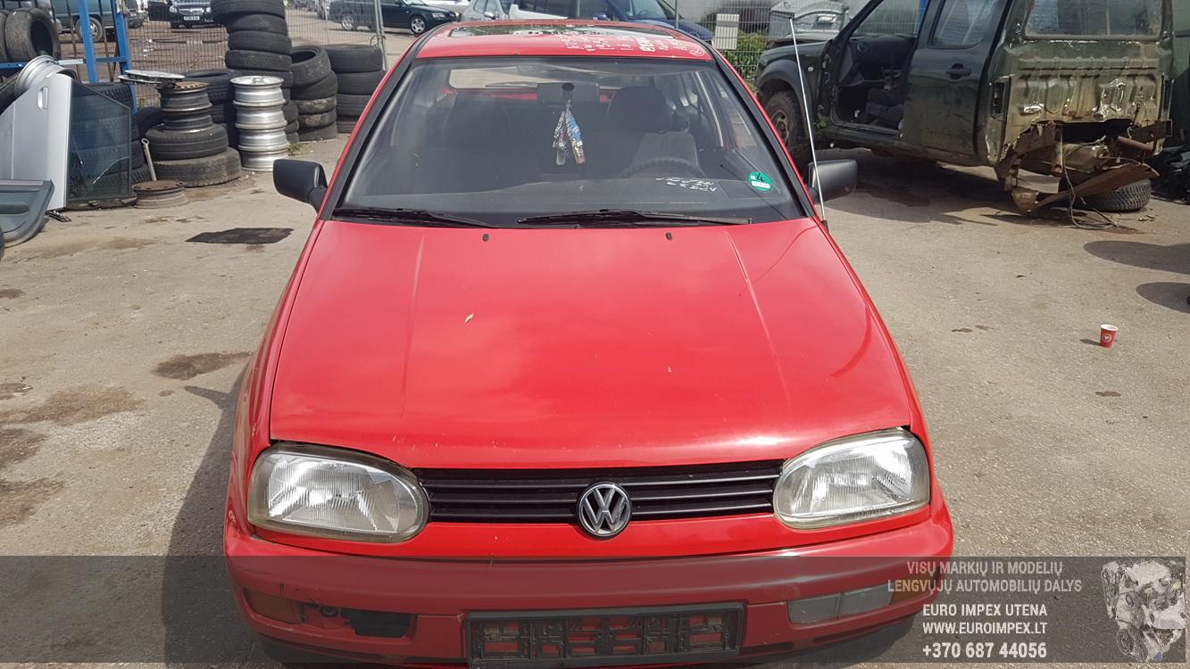 Volkswagen GOLF 1996 1.6 Mechaninė