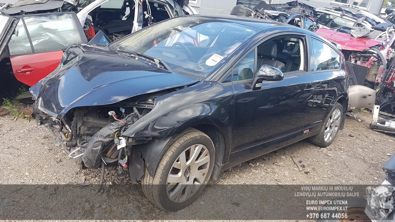 Naudotos automobilio dalys Citroen C4 2006 2.0 Mechaninė Hečbekas 2/3 d. Juoda 2016-8-12
