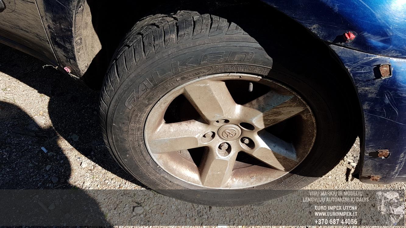 Naudotos automobiliu dallys Foto 4 Toyota RAV-4 2003 2.0 Mechaninė Visureigis 4/5 d. Melyna 2016-8-25 A2952